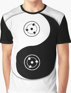 sharingan yin and yang Graphic T-Shirt