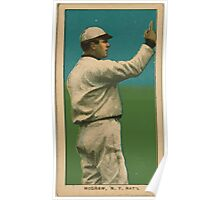 Benjamin K Edwards Collection John McGraw New York Giants baseball card portrait 003 Poster