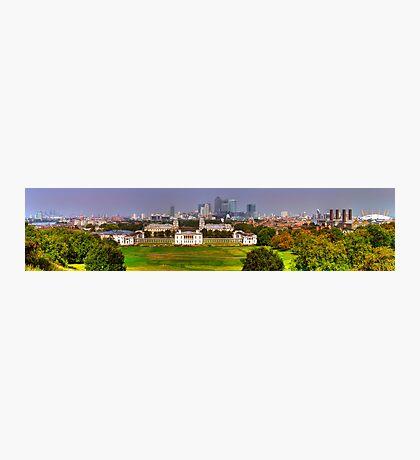 Greenwich View Pano Photographic Print