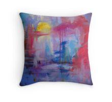 Monet Swamp Throw Pillow