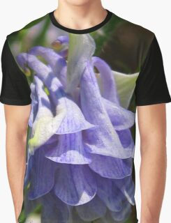 Double Columbine named Blue Graphic T-Shirt