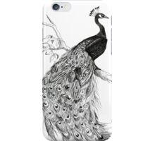 Fancy Ink Peacock iPhone Case/Skin