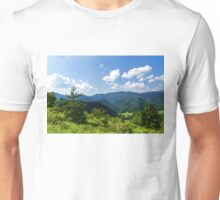 Impressions of Mountains and Forests and Trees Unisex T-Shirt