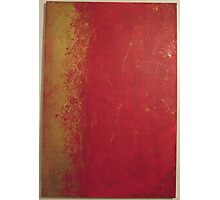 golden red Photographic Print
