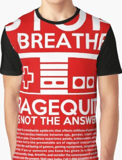 Ragequit PSA Graphic T-Shirt