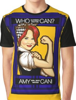 Amy Can! Graphic T-Shirt