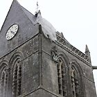 The Church at St. Mere-Eglise by lovelylady