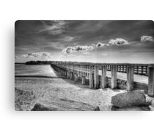 Powder Point Bridge Canvas Print