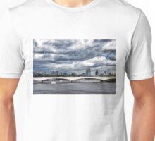 Impressions of London - Stormy Skies Skyline Unisex T-Shirt