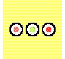 Pixel Maki Sushi Photographic Print