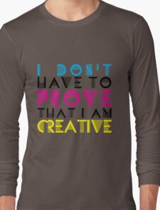 Artists Only Long Sleeve T-Shirt