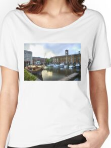 Golden Boat - Gloriana, The British Royal Barge Women's Relaxed Fit T-Shirt