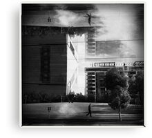 Dockland to.  Canvas Print