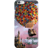 Hot AIr Adventure Is Out There iPhone Case/Skin