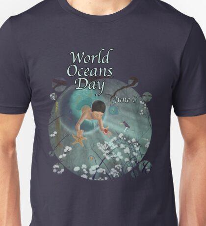 Keepsakes of the Ocean - World Oceans Day - Bubble cut T-Shirt