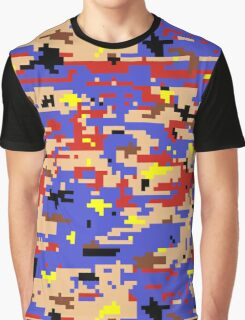 8-bit Digital Camo (Mario) Graphic T-Shirt