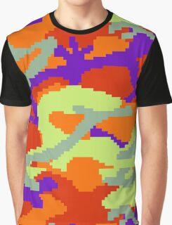 8-bit Woodland Camo (Samus) Graphic T-Shirt