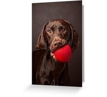 I wanna play ball! Greeting Card