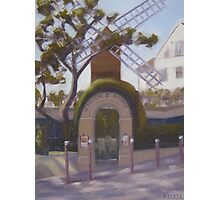 Le Moulin de la Galette Photographic Print