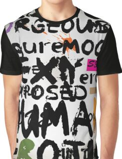 all abut words 3 Graphic T-Shirt