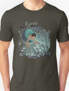 Keepsakes of the Ocean - Earth Day With Date - Bubble cut T-Shirt