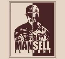 Nigel Mansell - The Lion (il leone) by oawan