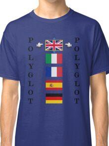 Polyglot language selector Classic T-Shirt