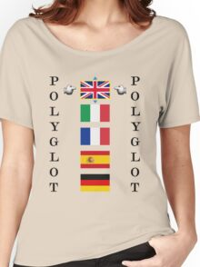 Polyglot language selector Women's Relaxed Fit T-Shirt