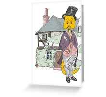 A Very Fine Feline Greeting Card
