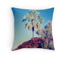 Palm Valley  Throw Pillow