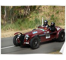 1938 Alfa Romeo Poster