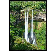 Waterfall - Mauritius Photographic Print