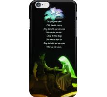 Love Flower Quote - Tangled iPhone Case/Skin