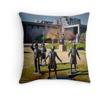 Tribute to the School Children of Texas - Austin State Capitol Throw Pillow