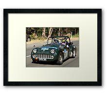 1959 Triumph Framed Print