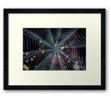 Spiderlights Framed Print