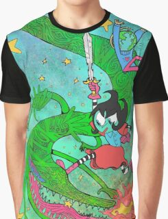 Space Dragons are Fun Graphic T-Shirt