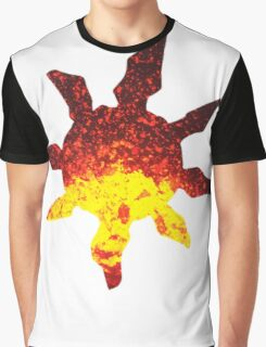 Solrock used Fire Spin Graphic T-Shirt