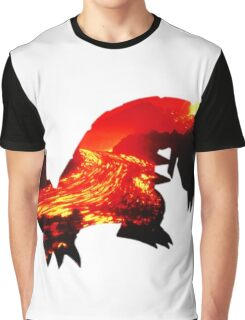 Groudon used Earthquake Graphic T-Shirt