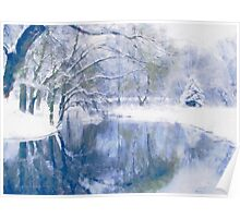 Reflections Of Winter Poster