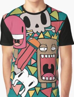 Character Doodles Graphic T-Shirt