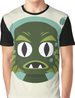 Little Creature from the Black Lagoon Graphic T-Shirt