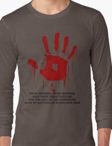 AWESOME Dark Brotherhood Black Sacrament! Long Sleeve T-Shirt