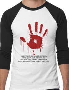 AWESOME Dark Brotherhood Black Sacrament! Men's Baseball ¾ T-Shirt