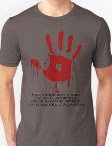 AWESOME Dark Brotherhood Black Sacrament! Unisex T-Shirt