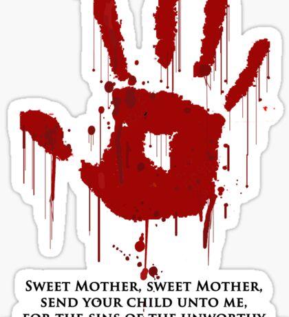AWESOME Dark Brotherhood Black Sacrament! Sticker