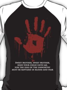 AWESOME Dark Brotherhood Black Sacrament!  T-Shirt