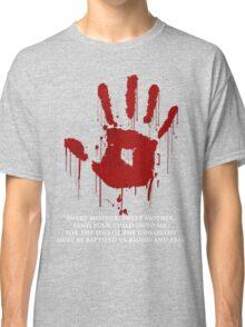 AWESOME Dark Brotherhood Black Sacrament!  Classic T-Shirt