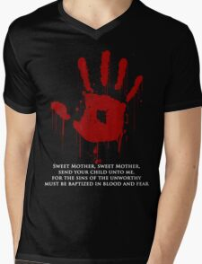 AWESOME Dark Brotherhood Black Sacrament!  Mens V-Neck T-Shirt