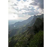 Misty mountains of Africa Photographic Print